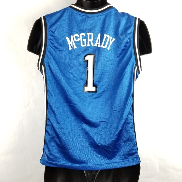 best service f8af5 40a34 Reebok Tracy McGrady Orlando Magic Jersey Youth